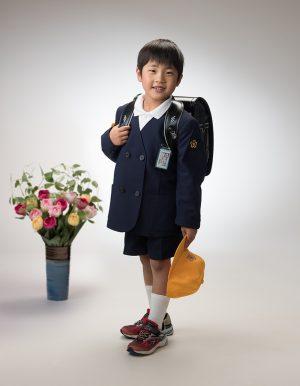 あかい写真館撮影「入園・入学・卒業」