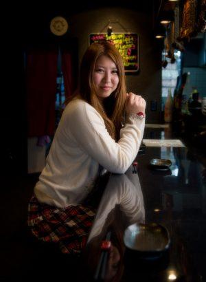 「彩香さん」 日本写真館賞 佳作 2014