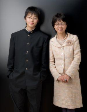 「高校入学の日に」 近畿プロフォトコンテスト 特選 2015