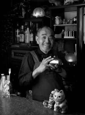 「「古町」のマスター」 日本写真館賞 入選 2015